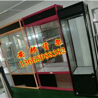 供应福建精品货架钛合金展示柜玻璃柜台