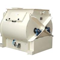供应双轴浆叶高效腻子粉搅拌机
