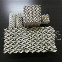 厂家低价供应陶瓷波纹填料 陶瓷规整波纹填料