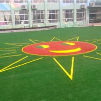 人造草皮 幼儿园人造草,运动跑道、人造草坪