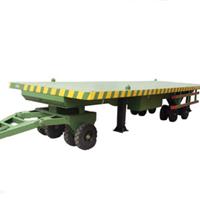 供应3吨平板拖车 带护栏平板拖车