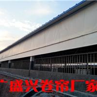 贵州温氏养殖猪场卷帘、油布卷帘、卷帘篷布