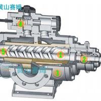 轧钢精轧区液压站配用油泵HSNH660-44螺杆泵