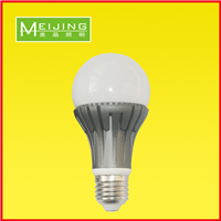 LED球泡灯5W 7W铝材散热PC罩广州厂家直销