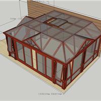 屋顶露台阳光房