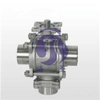 供应Q64F-16P立式三通对焊球阀