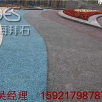 供应上海 彩色透水地坪/艺术透水路面