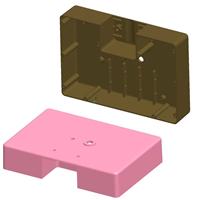 供应防水铝合金LED外壳