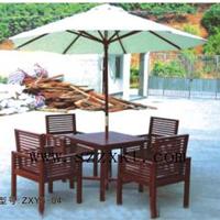 供应海滩遮阳套桌椅 小区泳池岸套桌椅