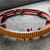 供应1.5X12米烘干机大齿轮 铸钢45现货供应