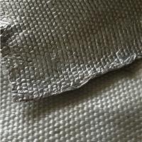 阻燃铝箔玻纤布2mm 耐高温防火管道保温