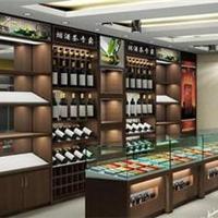 上海烟酒展柜制作 超市展柜制作 烟酒店装修