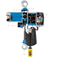 供应风电塔筒电动环链葫芦