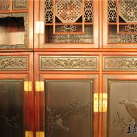 顶箱柜生产厂家价格 王义红木顶箱柜图片
