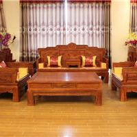 供应 红木家具 汉宫春晓沙发7件套