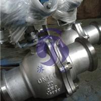 供应不锈钢Q361F-16P涡轮对焊球阀