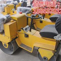 供应双钢轮座驾式小型振动压路机