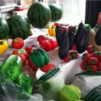 仿真蔬菜水果雕塑,玻璃钢烤漆雕塑