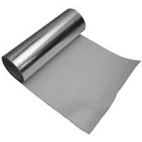供应铝箔方格布FW600 铝箔玻纤隔热防火布