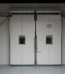 供应广州丹特冷库门聚氨酯平移门不锈钢进口冷库门