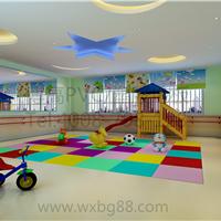 江苏博高直销环保塑胶地板,早教中心专用