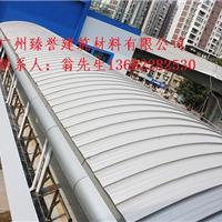 供应广西省周边地区铝镁锰金属屋面板