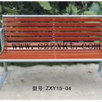 步行街休息椅 酒店花园长凳 遮阳休闲椅系列