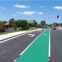 城市绿道专用材料  自行车防滑地坪