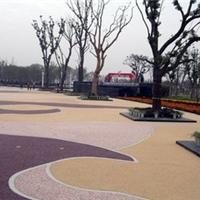 青岛透水地坪,青岛彩色混凝土