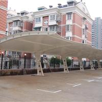 浙江金华膜结构车棚的安装及加工