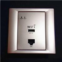 入墙式无线路由器 墙壁嵌入式86型面板AP