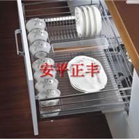 供应美观厨具专用碗盘装放不锈钢碗架