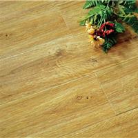 供应复合地板家用环保耐磨高光亮面模压