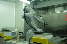 ABB机器人生产线 机器人喷涂设备