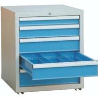 山东工具柜 五抽工具柜 移动工具柜