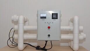 供应10吨/小时PVC海水淡水养殖紫外线杀菌器