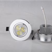 厂家批发3w 5w 7w 9w 12w  LED天花射灯