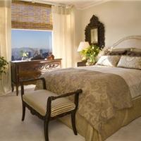 供应酒店宾馆窗帘床品等定做