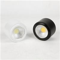 厂家直销3w 5w 7w 吸顶式明装LED筒灯