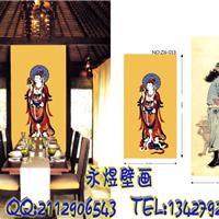 供应餐厅背景墙墙画壁纸厂价直售