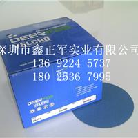韩国鹿牌SA331圆盘砂纸进口自粘背绒砂纸片