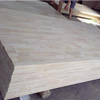 批发橡木板AB1220X2440X17MM橡胶木指接板