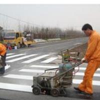 供应河南马路划线 道路热熔标线施工