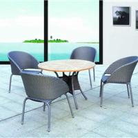 供应咖啡桌椅,户外家具品牌,藤编家具厂家