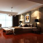 高级实木地板系列――圆盘豆(红檀香色)