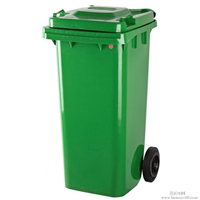 唐山 120L 240L塑料垃圾桶 脚踏塑料垃圾桶