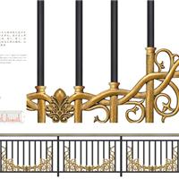 豪华艺术栏杆