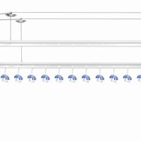 供应卡贝手摇式晾衣架细节图