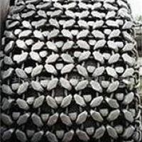 大型矿山装载机45/65-45轮胎防护链