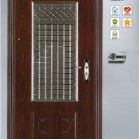长沙防盗门厂家-步阳不锈钢单窗门中门